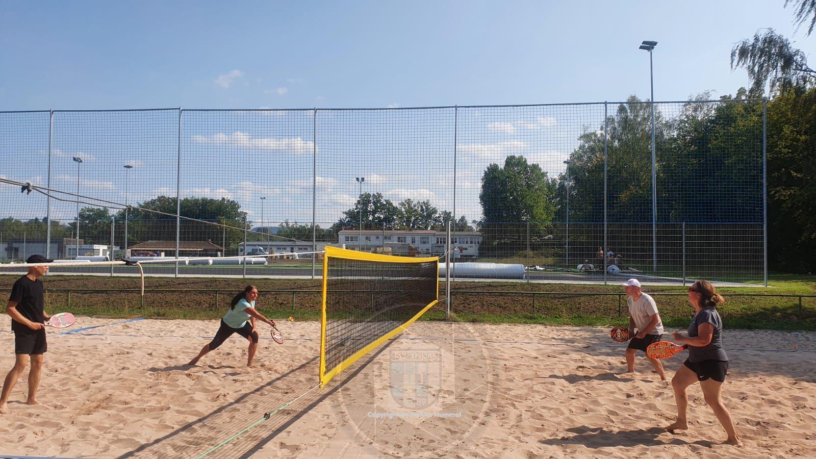 Beach Tennis beim TSV Betzingen