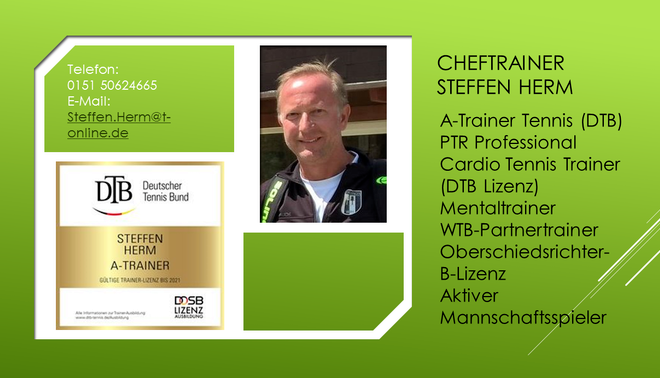 Tennis-Cheftrainer TSV Betzingen