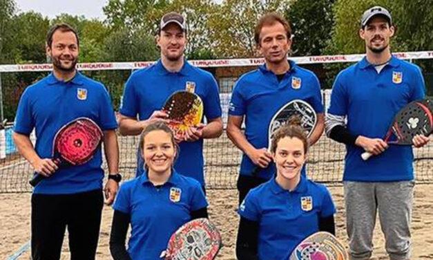 1. und 2. Platz in dieser länderübergreifenden Beach Tennis Liga geht nach Württemberg