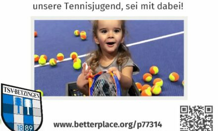 Unser Spendenprojekt bei betterplace.org