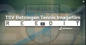 Imagefilm Tennis TSV Betzingen Reutlingen