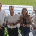 Betzinger Beach Tennis Mannschaft wird mit Sportlermedaille ausgezeichnet