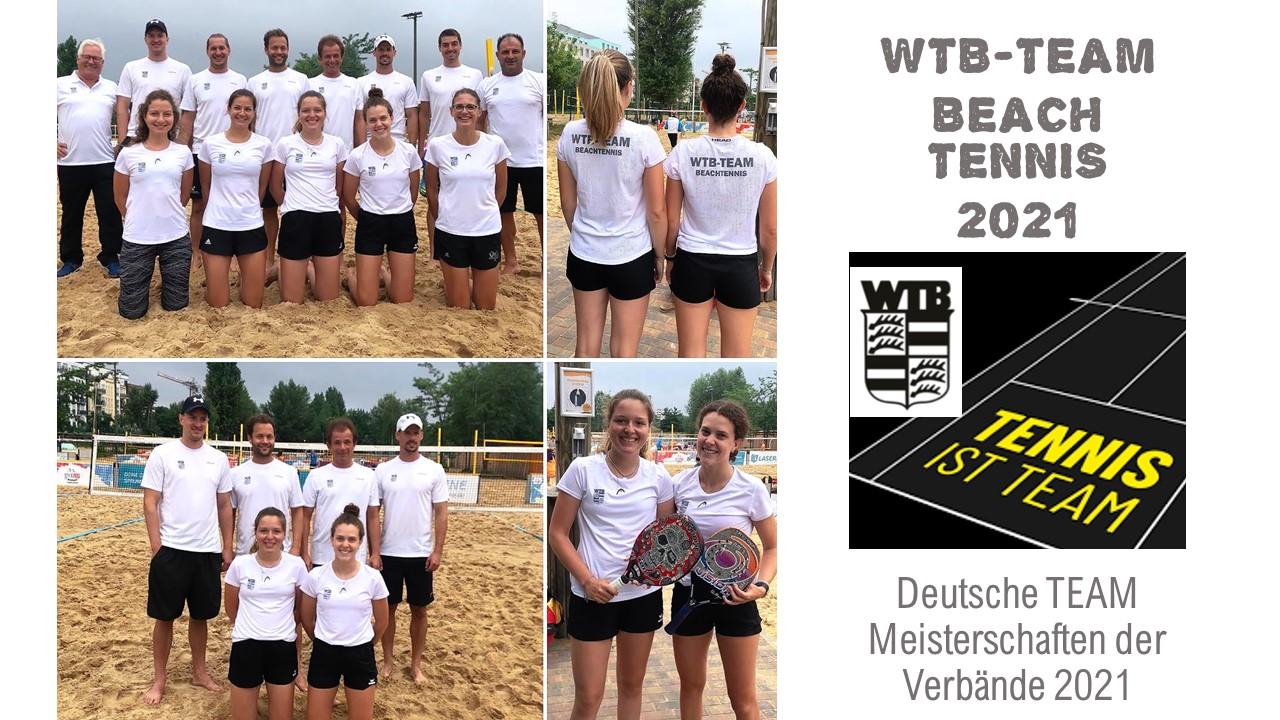 Deutsche Beach Tennis Team Meisterschaften der Verbände 2021