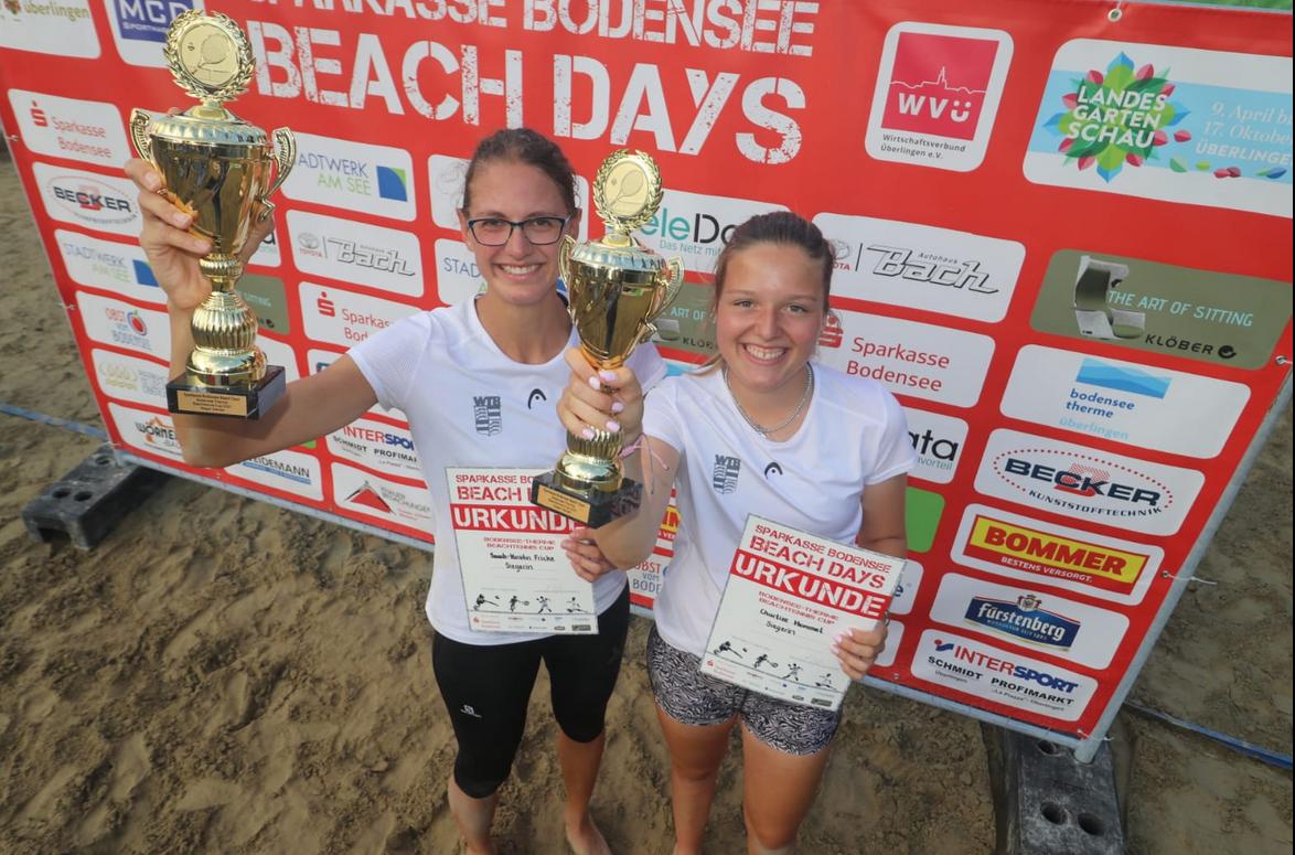 Charlize Hummel und Sarah-Kristin Fricke gewinnen Überlinger Beach Opel 2021