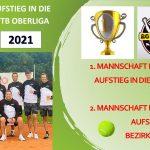 Betzinger Tennis Herren 40 steigen in die WTB Oberliga auf